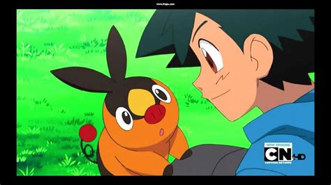 Ash Catches Tepig