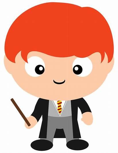 Potter Harry Clipart Weasley Rony Dobby Pettigrew