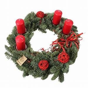 Adventskranz Rot Selber Machen : adventskranz klassisch rot ~ Markanthonyermac.com Haus und Dekorationen