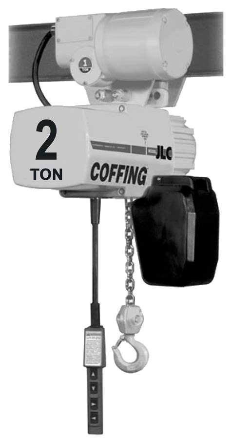 2-Ton Coffing JLC Electric Chain Hoist