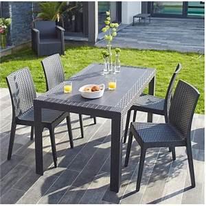 Table De Jardin Solde : salon de jardin topiwall ~ Teatrodelosmanantiales.com Idées de Décoration