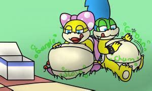 koopaling picnic  superkoopatroopa