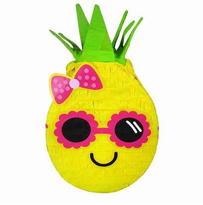Pineapple Pinata Luau Cool Sunglasses Pinatas Easy