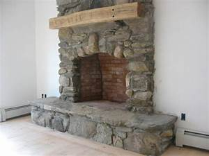 Fieldstone fireplace pictures and ideas for Stone fireplace hearth pictures