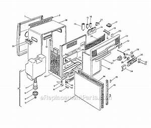 Delonghi Pac250u Parts List And Diagram