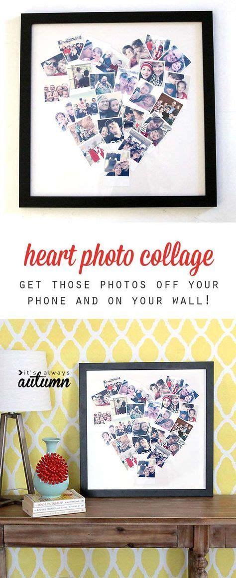 creative diy photo projects  diy gifts