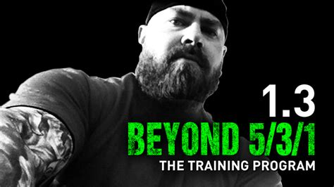 program beyond wendler nation jim training workouts powerlifting results strength workout extreme demands weight lifting weeks power