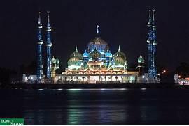 Beautiful Masjid Masjid bandaraya kota kinabalu  Beautiful Masjid On Water