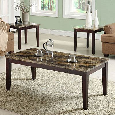 Includes Coffee Table And Two End Tables Deep Espresso