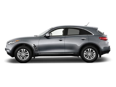 Image 2018 Infiniti Fx35 Rwd 4 Door Side Exterior View