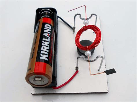 Simple Motor by Simple Electric Motors Award Winning Science Projects