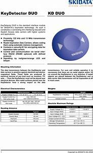 Skidata Keydduo485 Transponder