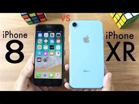 iphone xr vs iphone 8 should you upgrade speed comparison review