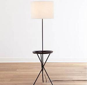 Table floor lamp look 4 less and steals and deals for Floor lamp with table tray uk
