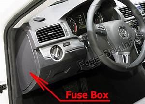 Fuse Box Diagram  U0026gt  Volkswagen Passat B7  2011