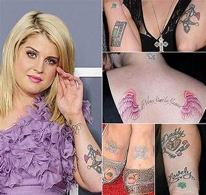 Celebrity Tattoos - 16 The Hottest Female Celebrities With ...