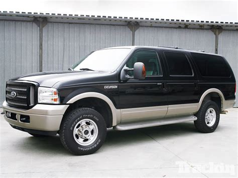 cherokee jeep 2000 2003 ford excursion family hauler makeover truckin