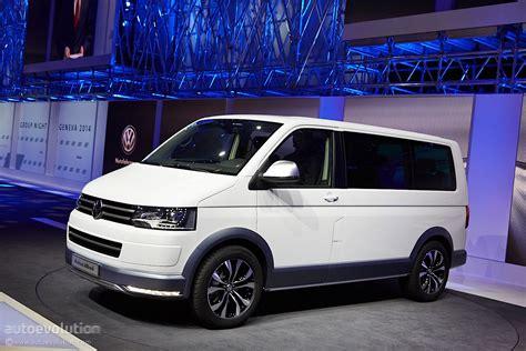 Volkswagen Shows Off Its Multivan Alltrack in Geneva [Live ...