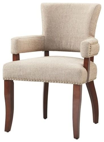 dawson arm dining chair brown contemporary dining