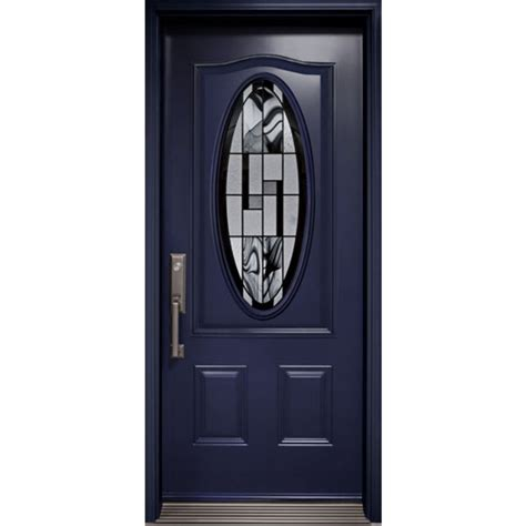 exterior door  kallima small oval glass insert