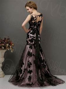 black lace wedding dress good dresses With black vintage wedding dresses