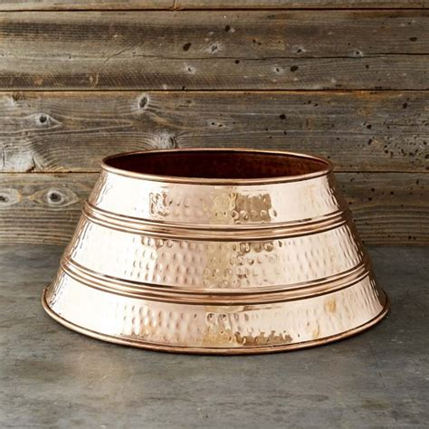 copper tree skirt williams sonoma