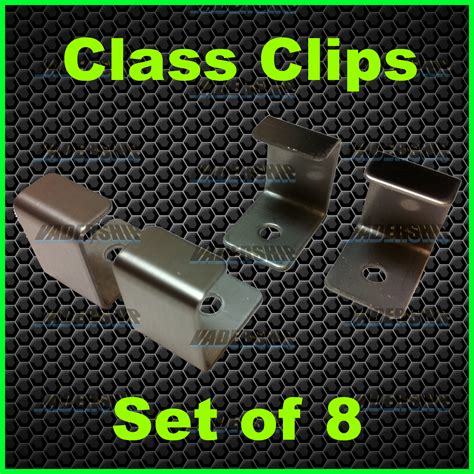 glass table top clips glass clips set of 8 cocktail table top machines