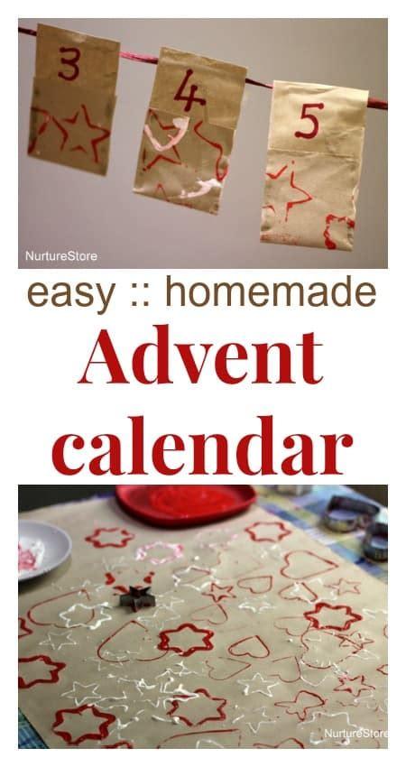 easy homemade advent calendar nurturestore