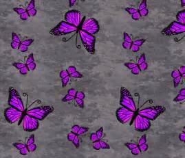 Purple Monarch Butterfly