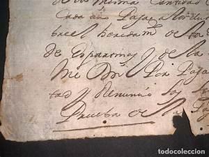 Manuscrito  Sello Cuarto  1718  Reinado Felipe