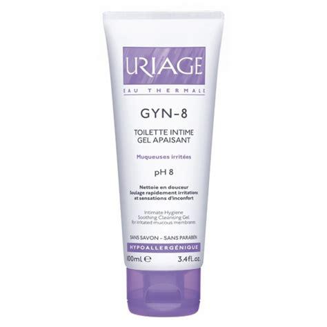 Uriage nomierinošs intīmās higiēnas gels GYN-8, 100 ml