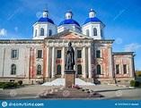 Kashin, Tver Region, Russia, September 20, 2018: Monument ...