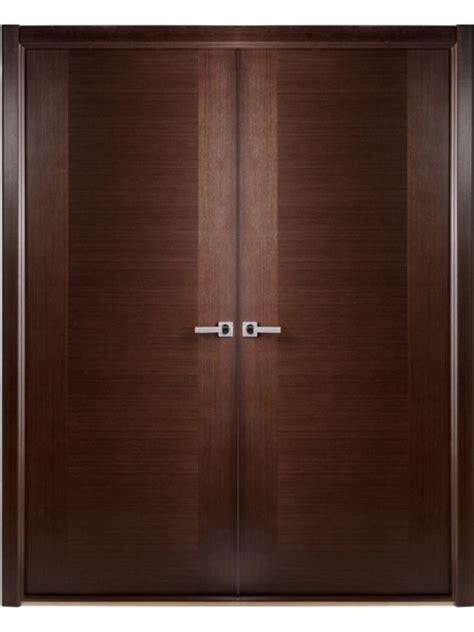 Prehung Interior Doors Home Depot - interior double door modern contemporary african wenge veneer by arrazzini within 14