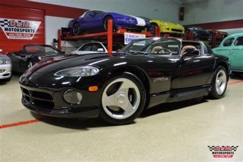 auto air conditioning service 1995 dodge viper rt 10 electronic toll collection purchase new 1995 dodge viper rt 10 only 352 one owner miles air conditioning black on tan in