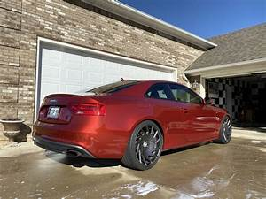 For Sale Audi S5 Vulcano Red   Manual Transmission