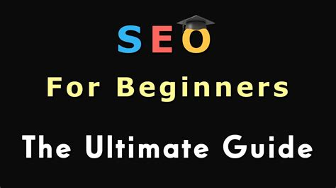 seo for beginners 1 seo for beginners introduction