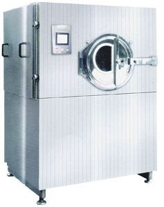 healthcare industry tablet coating system dry scrubber