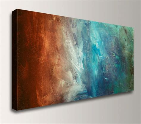 abstract painting large wall canvas print panoramic