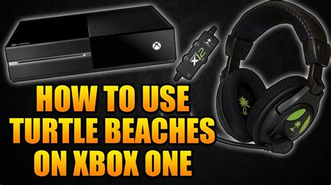 How To Use A Red Cushions In Decorating: How To Use Turtle Beach X12 Headset On Xbox One