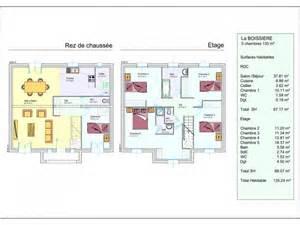 Plan Maison Etage 3 Chambres by Mod 232 Le De Maison La Boissiere 1 233 Tage 3 Chambres Les