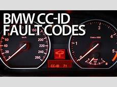 Reading BMW CCID codes of warning messages E87, E90, E60