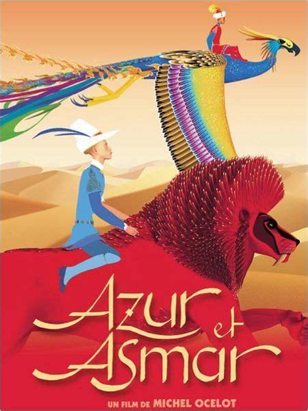 azur  asmar affiche michel ocelot colors en