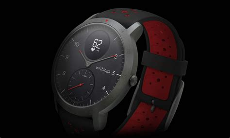 withings steel hr sport smartwatch tracks activity sleek analog bikerumor