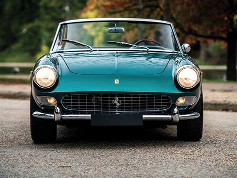 An extremely rare 1965 ferrari 275 gts is currently available for auction over at renowned automotive auction house rm sotheby's. This 1965 Ferrari 275 GTS Was Crafted For Moroccan Royalty