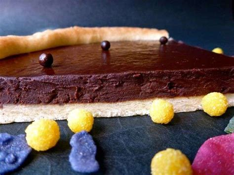 recette tarte au chocolat avec pate brisee les meilleures recettes de tartes et chocolat