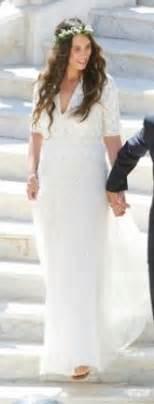 robe blanche mariage civil robes élégantes robe longue blanche mariage civil