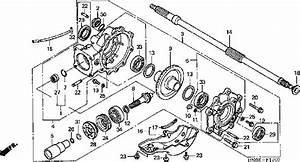 2004 Honda Foreman 450 Es Front End Parts Diagram  Honda