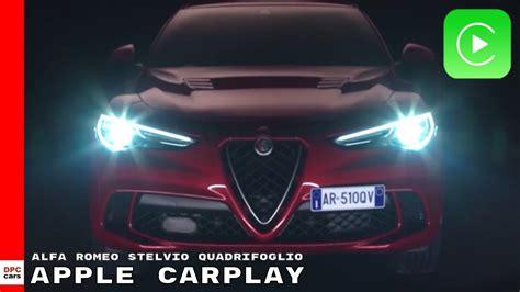 Alfa Romeo Stelvio Quadrifoglio Apple Carplay