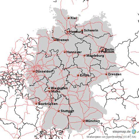 autobahnnetz deutschland