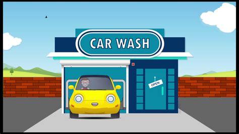 Water Less Car Wash Animation Hd2